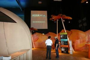 Interior Pabellón AguaViva